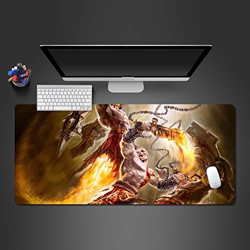 KTWMZ Mauspad Gaming 90X40Cm Actionspiele Mousepad Groß - Tischunterlage Large Size - Verbessert Präzision Und Geschwindigkeit - Rutschfester Gummi-Basis Für Pc Laptop Usw
