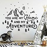 WSYYW Hot Mountain And Adventure Pegatinas de pared decorativas Decoración del...