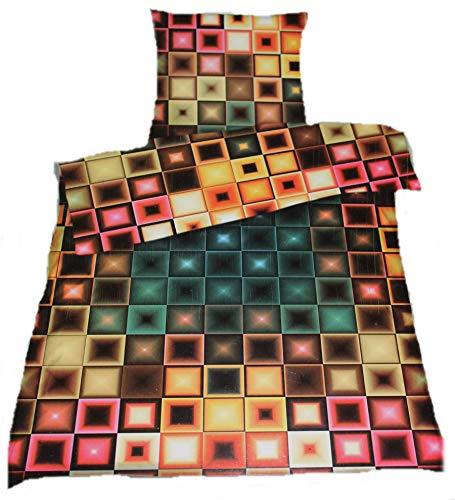 Pötter DC Designer ́s Inovations Club Parure de lit en Satin de Coton mako 135 x 200 cm