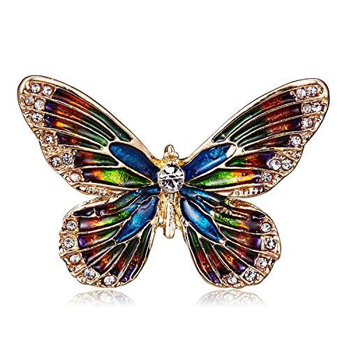 Schmetterling Brosche Anstecker Tier Brosche K19
