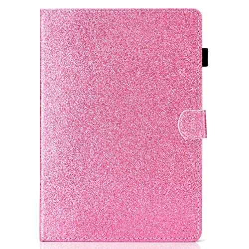 YYLKKB para Samsung Galaxy Tab A 10.1 T580 T585 Funda PU Funda de Cuero para Samsung Galaxy Tab A 6 10 1 Funda Protectora Protectora de la Tableta-Rosa_SM-T580 SM-T585