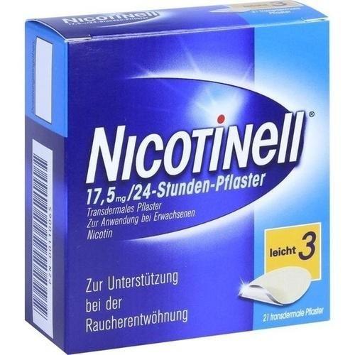 NICOTINELL 17.5MG 24 STD 21St Pflaster transdermal PZN:110065