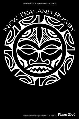 Planer 2020: Kalender 2020 Maori New Zealand Rugby | Planer mit Jahres-, Monats- und Wochenübersicht | Für Notizen, To-Dos und viels mehr |104 Seiten | Format ca. A5 |