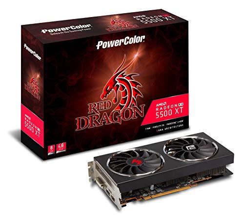 PowerColor Red Dragon RadeonTM RX 5500 XT - Tarjeta gráfica (8 GB)
