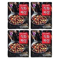 ジャージャー 麵 【直火ジャジャン粉末 4袋セット】麺料理 簡単調理 本格 ジャジャンの素 業務用 韓国料理 ご飯のお供 ごはんのおとも