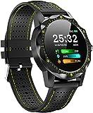 Smartwatch Fashion Watch Smart Wasserdicht IP68 Armband Aktivität Mann Frau Intelligente Sport Fitness Uhr Full Touchscreen Pressometer Chronometer für Android iOS-EIN Well