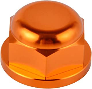 D-Modern- Rear Wheel Axle Nut For Ktm Sx Sxf Xc Xcf Exc Racing Excf Six Days For Husqvarna 85 125 150 200 250 300 350 450 500 530 00-2019 (Orange)