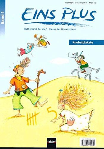 EINS PLUS 1. Ausgabe Deutschland. Knobelplakate: 12 Plakate für den Mathematikunterricht. Klasse 1 (EINS PLUS (D): Mathematik Grundschule)