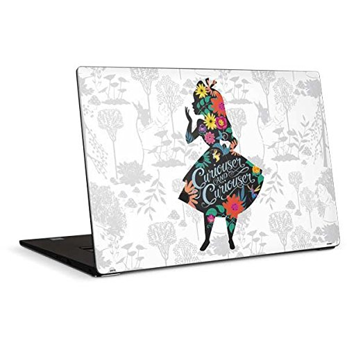 Skinit Decal Laptop Skin for Dell XPS 15in (2017) - Officially Licensed Disney Alice Curiouser and Curiouser Design