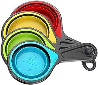 Multi Color Silicon - Measuring Cups & Jugs