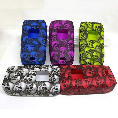KENTT 1 pcs random Design Skull Head Protective silicone case cover sleeve For Vaporesso Revenger 220 Kit Revenger 220 Protective Case