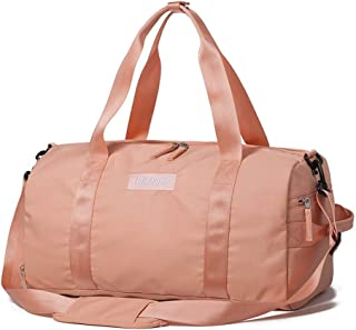 Weekend Bag Sports Gym Bag for Men and Women Duffle Holdall (Color : Orange, Size : L46×W22×H24cm)