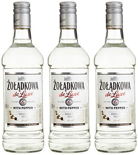 Zoladkowa Gorzka De Luxe Wodka mit Pfeffer (3 x 0.5 l)