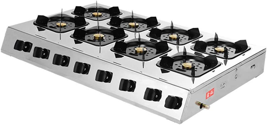 gas cooktop 35 Inches 8 Burners Gas Stove Gas Hob Stovetop ...