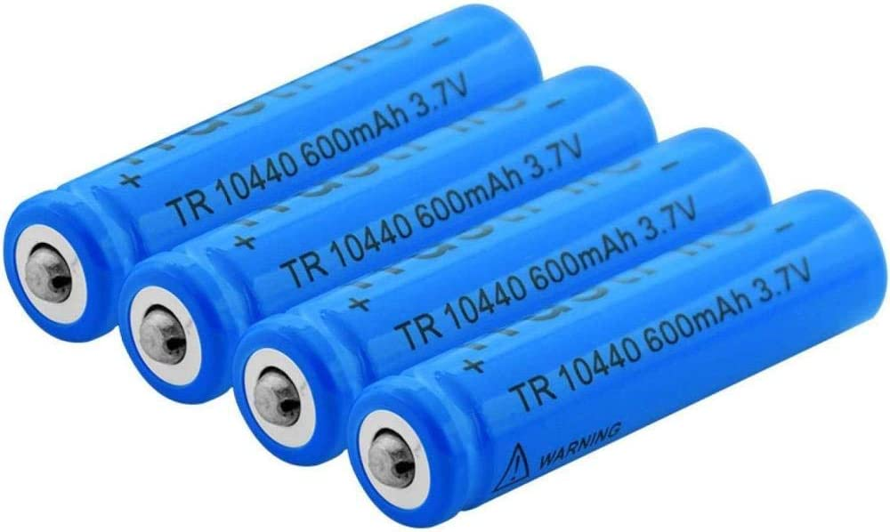 Rechargeable Battery National products 10440 3.7V 600Mah Li Batteries Under blast sales Ion Lithium
