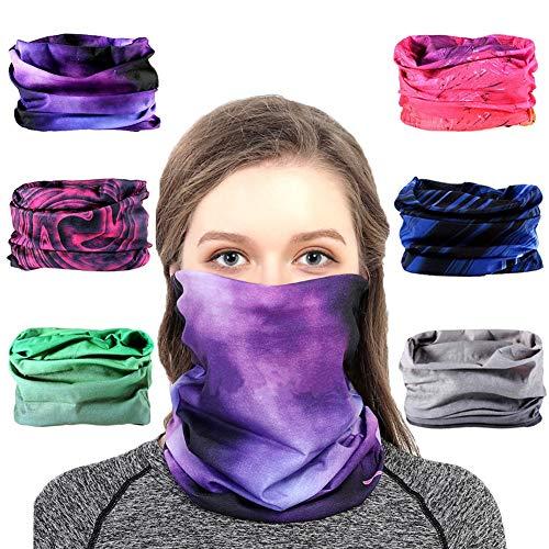 Toes Home Outdoor Magic Headband Elastic Seamless Bandana Scarf UV Resistence Sport Headwear Boho Series for Yoga Hiking Riding Motorcycling