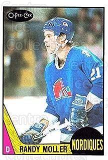 (CI) Randy Moller Hockey Card 1987-88 O-Pee-Chee (base) 251 Randy Moller