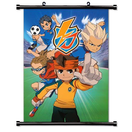 Inazuma Eleven Anime Fabric Wall Scroll Poster (16x22) Inches. [WP]-Inazuma-1