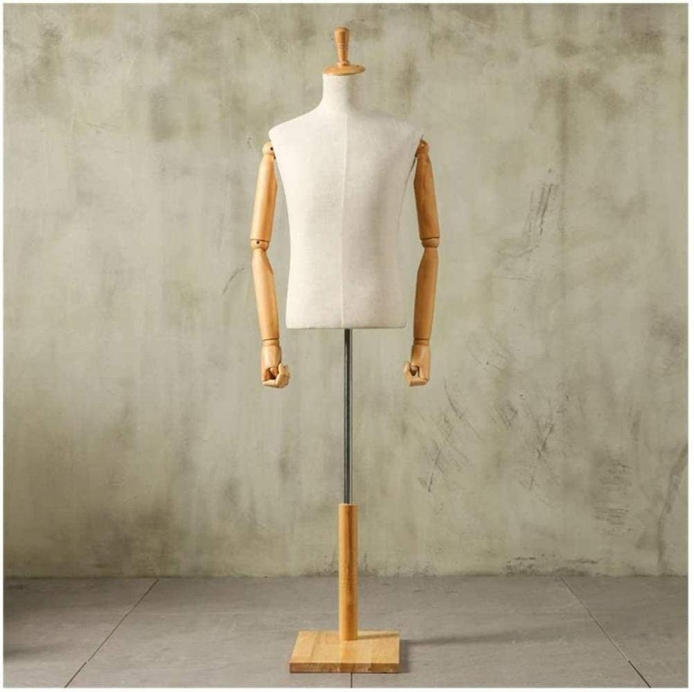 Professional Clothing Store Men Model Limited price sale Wooden Manne Popular overseas Manikin Props