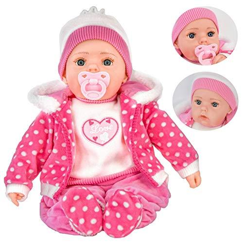 Bibi Doll - 20' Lifelike Large Size Soft Bodied Baby Doll Girls Boys Toy...