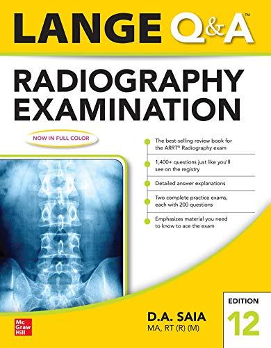 Lange Q & A Radiography Examination 12e