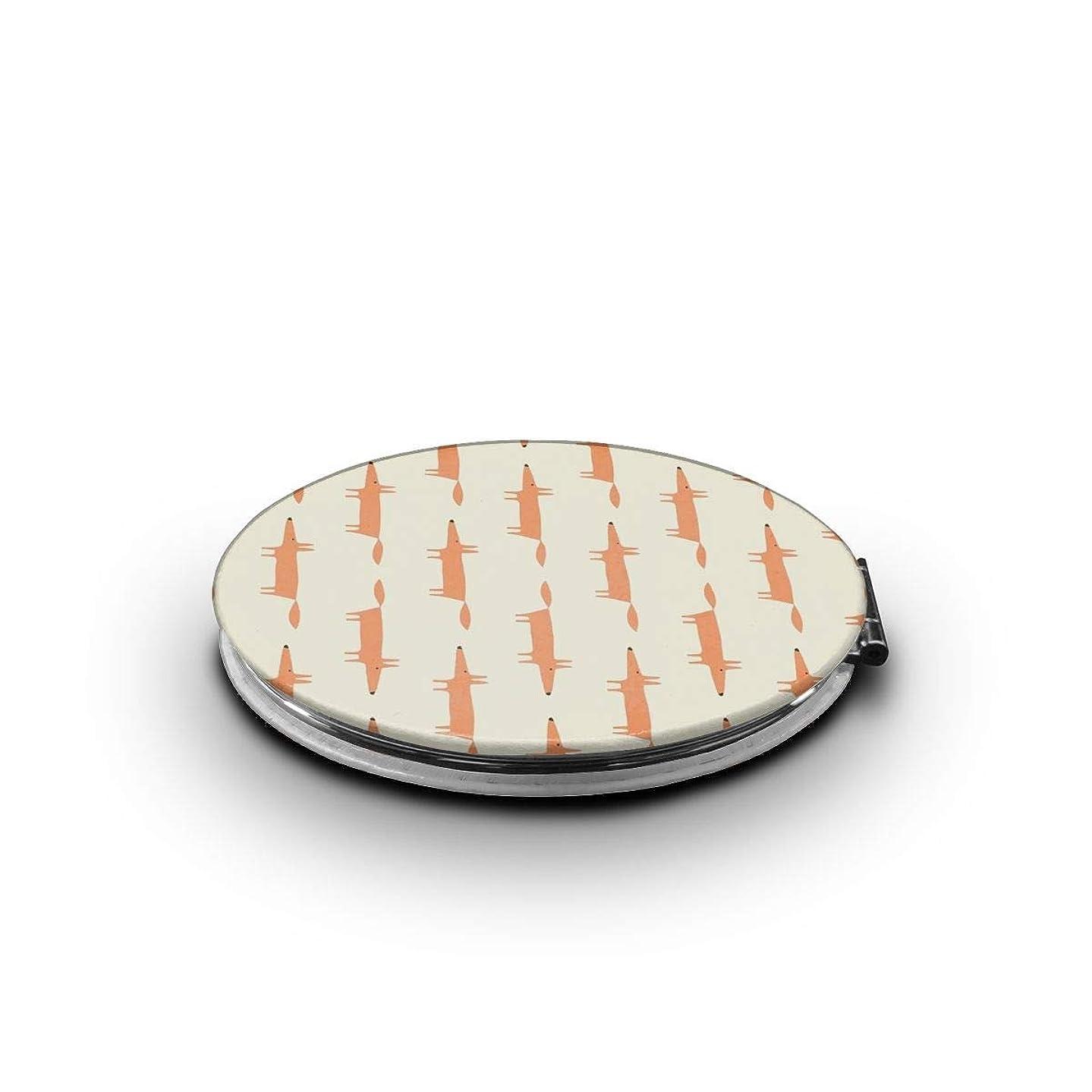 立法カール実験室ミラー 化粧鏡 スクールホリデークラフトのアイデア コンパクトミラー 軽量 丸型 折りたたみ鏡
