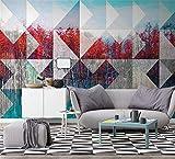 vvbihuaing 3d murales sfondo parete adesivi decorazioni paesaggio nordico dipinto ad olio moderno arte cucina per i bambini sullo sfondo del soggiorno (w) 250x(h) 175cm
