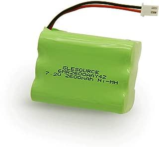 GLESOURCE 7.2V 2600mAh Backup Battery for 2gig BATT1X BATT2X BATT1 GC2 2GIG-CNTRL2 2GIG-CP2 GCKIT311 Go Control Panel Security System Alarm 6MR2600AAY4Z 10-000009-001