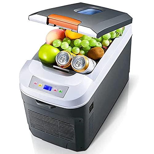 35L Mini FRIGERADOR, CASA CASA DE Dual Uso Frigorífico, Organizador De Refrigerador De Congelador De Alimentos Portátiles para Automóviles Casa Al Aire Libre Pinesic