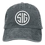Photo de MERCHA Best SIG SAUER Adult Retro Adjustable Casquette Cap Dad Trucker Hat
