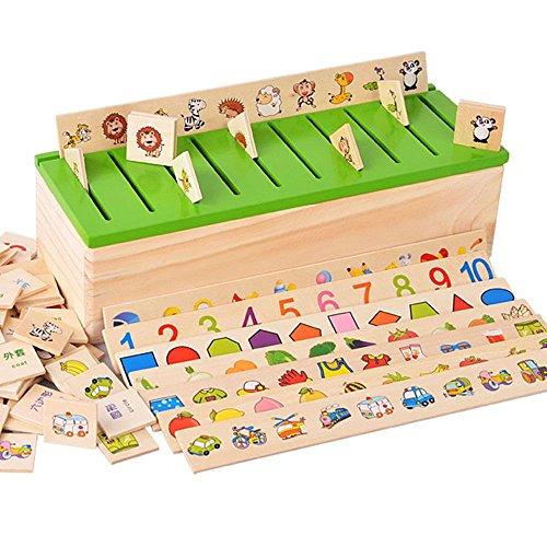 B/éb/é de Souked en bois Toy Mini Autour Perles fil Maze Jeu /éducatif Boule