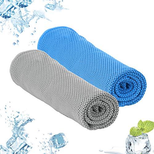 Dustgo Mikrofaser Handtücher, Perfekte Sporthandtuch, Strandhandtuch, Reisehandtuch,Badehandtücher,kompakt, Ultra leicht & schnelltrocknend