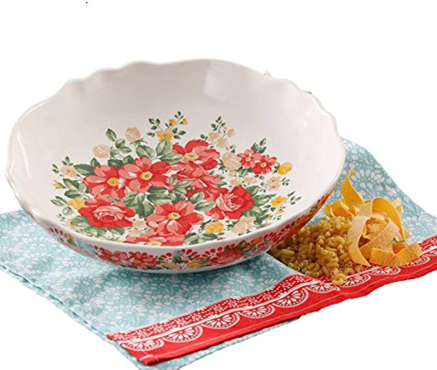The Pioneer Woman Pasta Serving Bowl Vintage Floral