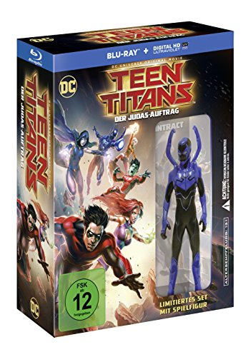 Teen Titans - Der Judas-Auftrag + Figur (exklusiv bei Amazon.de) [Blu-ray] [Limited Edition]