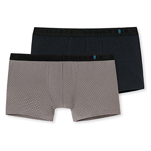 Schiesser Herren Retroshorts 95/5 Shorts (2er Pack), 2er Pack, Mehrfarbig (Sortiert 6 901), 8 ( Herstellergröße:XX-Large)