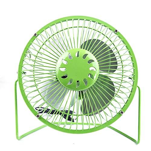 LeftSuper Ventilador Enfriador de 6 Pulgadas, tamaño Compacto, Escritorio, Ahorro de energía, Ventilador silencioso, Super silencioso, Mini Ventilador portátil, los Mejores Regalos