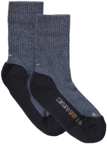 Camano Jungen 3721-04 Jr Sport 2p Socken, Blau (jeans + navy 04), 35-38