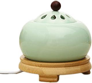 Electric Incense Burner, Household Temperature Adjustable Electric Incense Burner,Ceramic Incense Burner,Essential Oils Di...