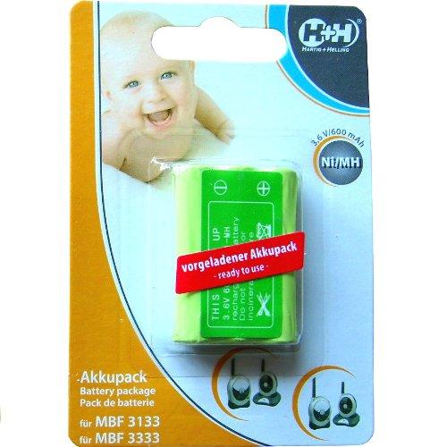 H+H Akku MBF 3333/3133 für Babyruf