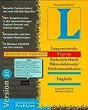 Pop-up Fachwörterbuch Mikroelektronik / Telekommunikation Englisch. Version 3.0. CD- ROM für Windows 95/98/ NT 4.0