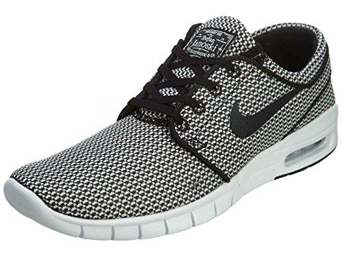 Nike Nike Herren Stefan Janoski Max Skateboardschuhe, Black/Black/White, 47.5 EU