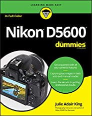 Image of Nikon D5600 for Dummies  . Brand catalog list of Wiley.