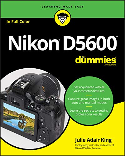 Nikon D5600 For Dummies (For Dummies (Lifestyle))