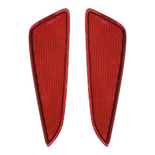 C-HR LED リフレクター 車検対応 純正反射機能付き トヨタ CHR NGX50 ZYX10 / ヤリス YARIS R2.2~ 専用設計 テールランプ リフレクターランプ 明るい 追突防止 スモール ブレーキ連動 純正交換 取付簡単 カーパーツ レッドカバー 1年保証 2個セット(C-HR/ヤリス 用 LY040)