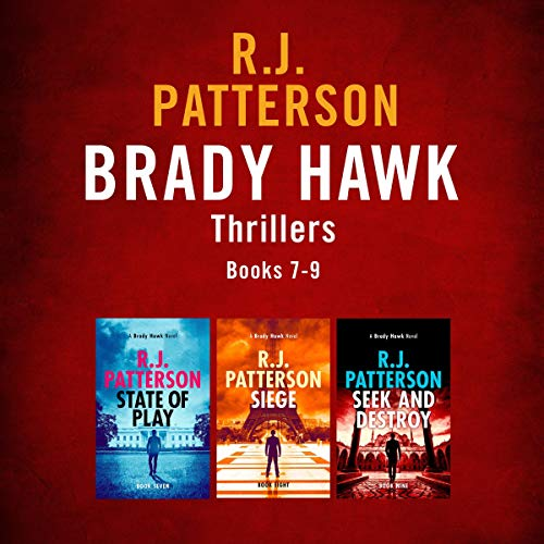 The Brady Hawk Series: Books 7-9 cover art