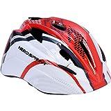 Hero in-Mould Kids Cycle Helmet, M (Red/White)