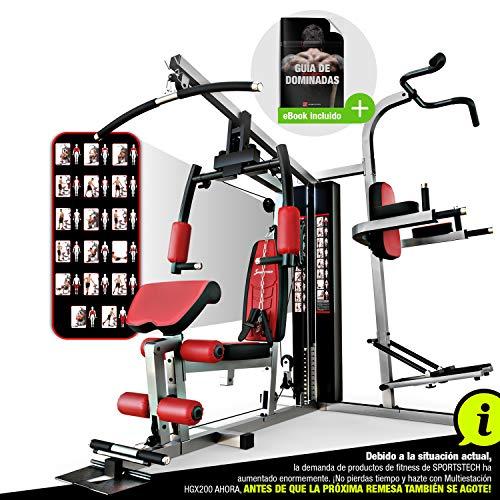 Sportstech HGX200 Multiestación musculación Premium 45en1