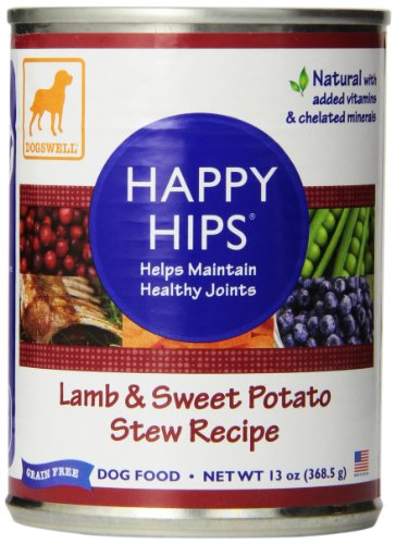 Dogswell Happy Hips Wet Dog Food with Glucosamine & Chondroitin, Adult...
