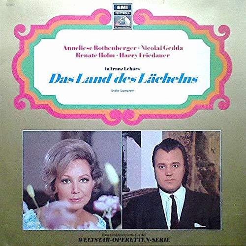 Anneliese Rothenberger , Nicolai Gedda , Renate Holm , Harry Friedauer - Das Land Des Lächelns - EMI Electrola - 63 157