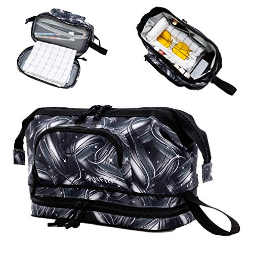 JINFIRE Hygiene Bag Care Packages for Military Shave Kits for Men Bulk Toiletries for Homeless Travel Kit Men Travel Kit Men Toothbrush Bag Travel Womens Personal Hygiene Products Camping Hygiene